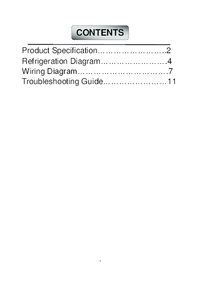 Thumb service manual l on off